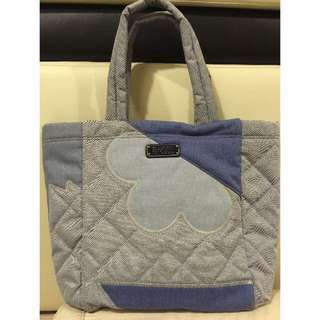 Authentic Marc by Marc Jacobs  Crosby Quilt Denim Tote