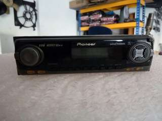 Radio cd player mosfet 50w x 4