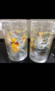 Honeyfield 1995年玻璃杯 (一對)