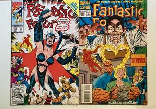 Fantastic Four #369, #393