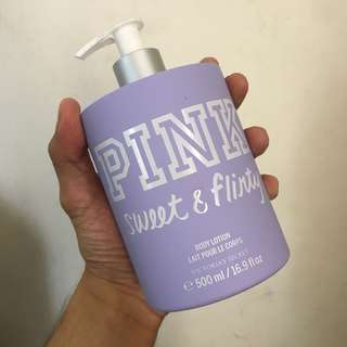 (Limited) Victoria's Secret Body Lotion - Pink Sweet & Flirty