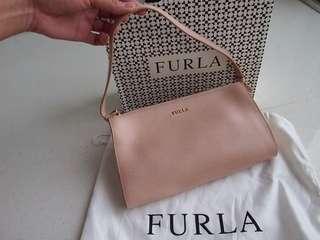 Authentic Furla beige shoulder bag (with receipt to prove authenticity)
