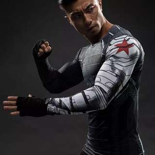 The Winter Soldier Long Sleeve Compression Shirt