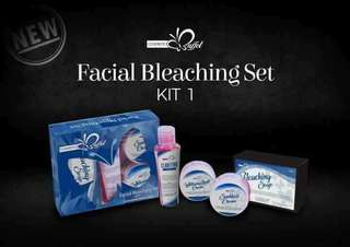 Facial bleaching set