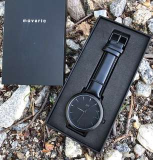 New UK 🇬🇧Watch Brand  MAVERIC All Black