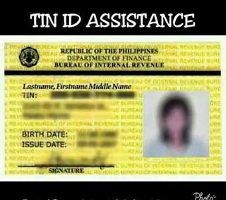 TIN ID ASSISTANCE