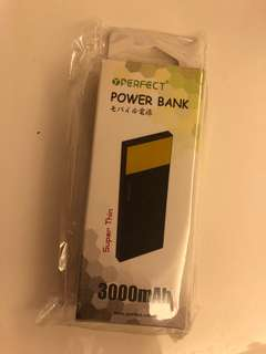 YPerfect power bank super thin 3000mAh