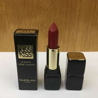 Guerlain Kisskiss Lipstick # 321 Red Passion