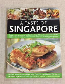 Taste of Singapore Cook Book - Full Colour