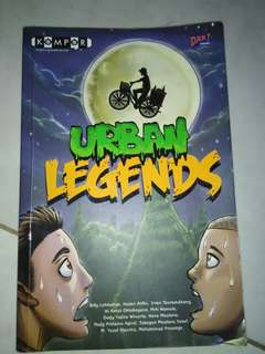 Komik Horror urban legends