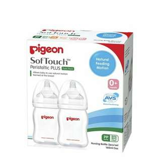 Pigeon WN Bottle 160ML TwinPack