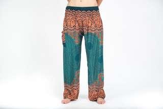 Geometric Mandalas Harem Thai Pants