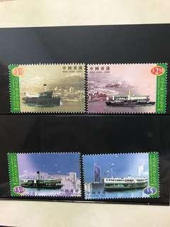 香港童軍 ,香港設計,天星小輪百周年紀念 郵票