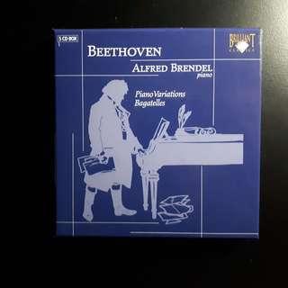 Beethoven: Piano Variations & Bagatelles (5 CDs) (Alfred Brendel)
