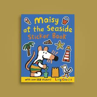 BN Maisy at the Seaside Sticker Book * Free Postage*