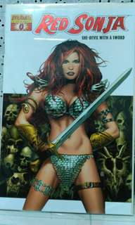 Red Sonja #0 with COA Dynamic  Forces, Inc.