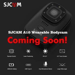 SJCam A10 WiFi Body Camera