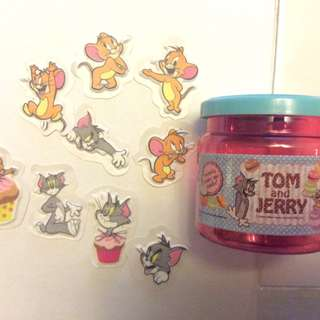 Brand new Tom and Jerry stickers