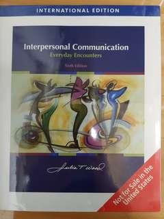 Interpersonal communications by Julia T Wood