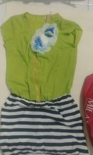 Green dress 全身裙