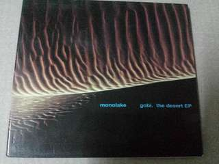 Music CD: Monolake–Gobi. The Desert EP - Cult German Ambient, Electronic, Abstract