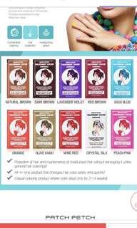 Patch fetch hair treatment ampoule korea