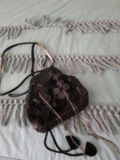 Mimco Cute Leather Hip Bag