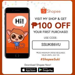SHOPPEE Suki Promo