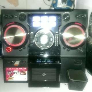L..G Mini hi fi system for DJ