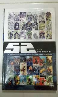 DC COMICS 52 THE COVERS HARDCOVER