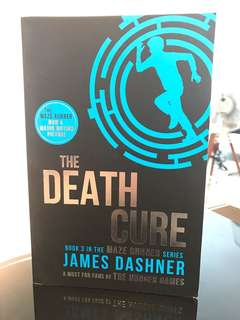 The Death Cure maze runner series by James Dashner