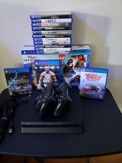 Selling Sony PlayStation 4 500Gb Slim Edition