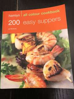 Cooking Book - 200 Easy Suppers