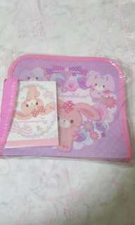 Bonbonribbon Stationery Pouch with Note Pad