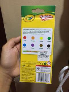 Twisable crayons