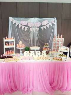 Dessert Table Setup - My Melody