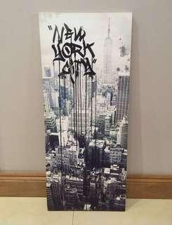 NYC Graffiti Canvas Wall Art