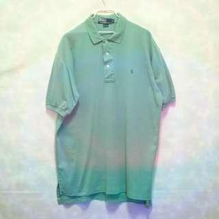 三件7折🎊 Ralph Lauren Polo polo衫 短袖 淺綠 小淺藍馬 極稀有 老品 復古 古著 vintage