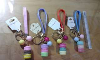 Colourful Macarons Bag Charms