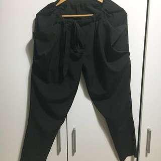 Noir黑哈倫綁帶氣質長褲 5/8起限時降價中💛