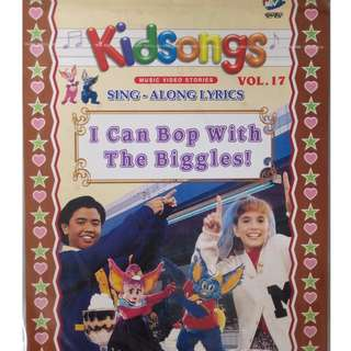 Kidsongs Sing Along Lyrics I Can Bop With The Biggles Vol.17 VCD