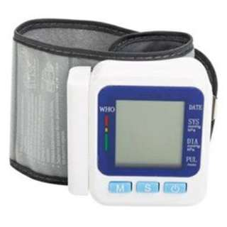 BP668 Automatic Wrist Blood Pressure Monitor & LCD Display