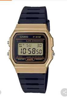 Authentic Casio F-91W