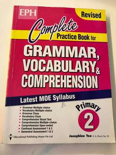 English P2 Grammar Book $8 for 2 books