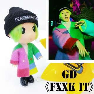 GD who you&fxxk it 公仔