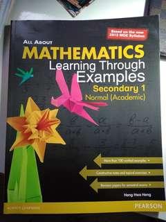 mathematics sec 1 NA