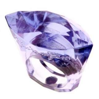 Ted Baker Acrylic You're A Gem Ring - Lilac / S / M