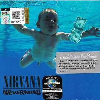NIRVANA Nevermind 2CD Imported CD