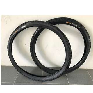 Continental Traffic MTB Tyre (one pair)