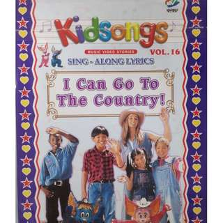 Kidsongs Sing Along Lyrics I Can Go To The Country Vol.16 VCD